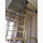 Лестницы изменяемой планировки винтовые двухшпиндельные Варио