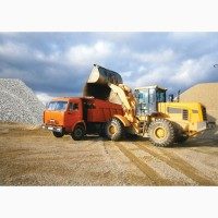 Перевозки песка, щебня и других сыпучих материалов. Киев и область