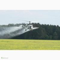 Вертолет для опрыскивания рапса