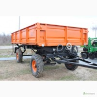 Прицеп тракторный самосвальный 2ПТС-4