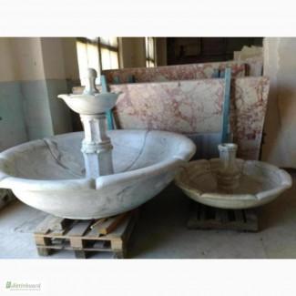 Мраморный фонтан == трехъярусный фонтан подсветкой. ( Украина )