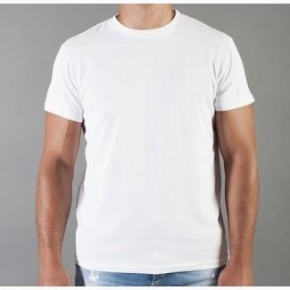 Мужская футболка в Украине. Футболка мужская белая, черная, серая, хлопковая