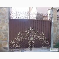Ворота из профностила Луцк