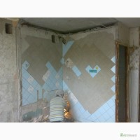 Демонтаж сантехкабин, перегородок.Резка проемов, стен в Харькове