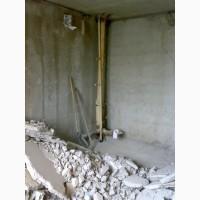Демонтаж, резка бетона, стен, перегородок, сантехкабин в Харькове