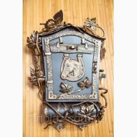 Почтовый ящик с лозой и подковой